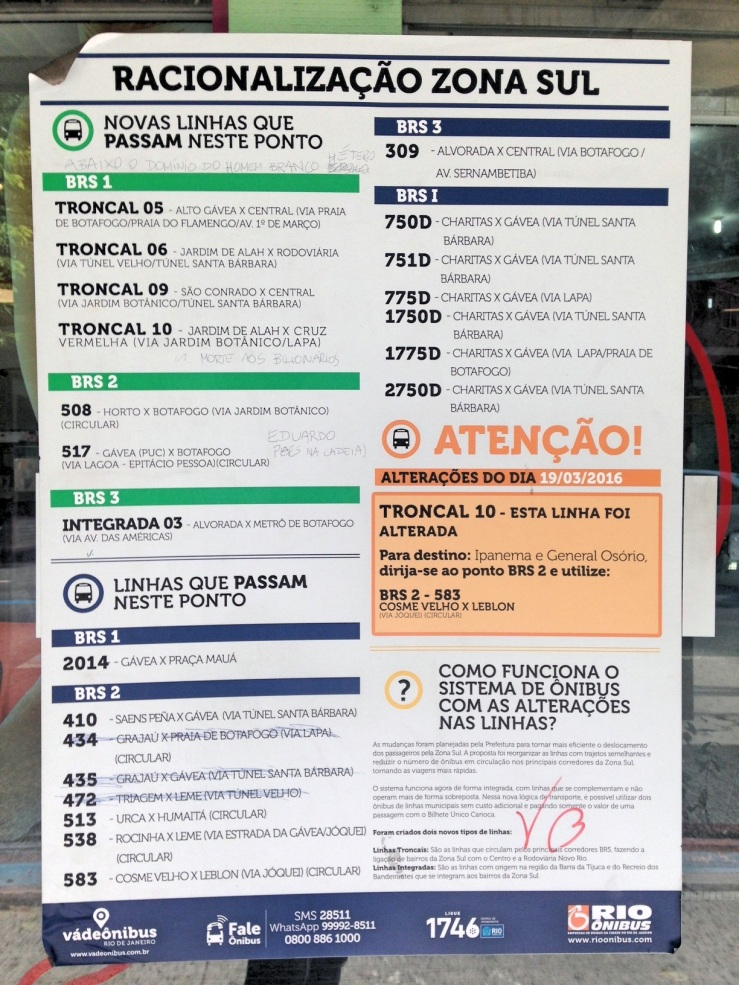 racionalizacao pontos de ônibus