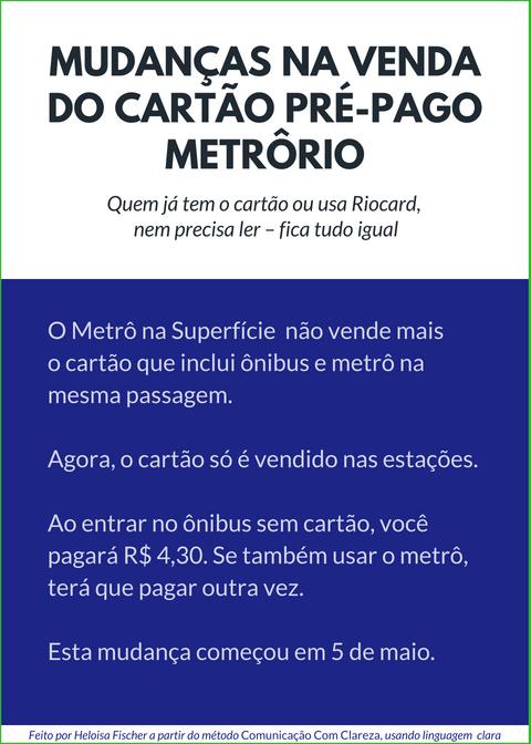 metro com borda verde